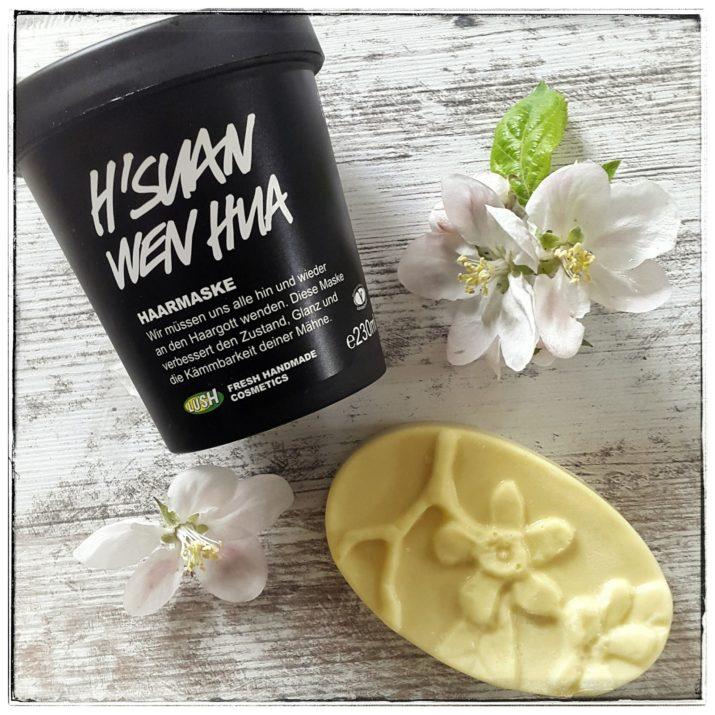 lush haarmaske massagebar