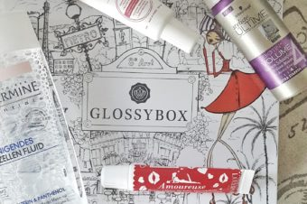 Glossybox Vive la France Edition Unboxing