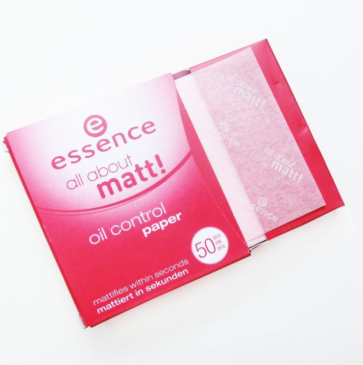 essence oil control blotting paper