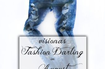 visionas Fashion Darling im August Ripped Jeans von Zara
