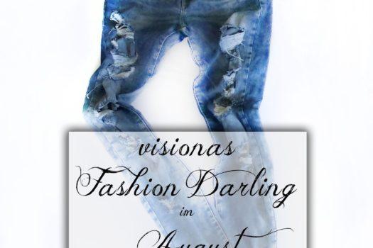 visionas Fashion Darling im August Ripped Jeans von Zara