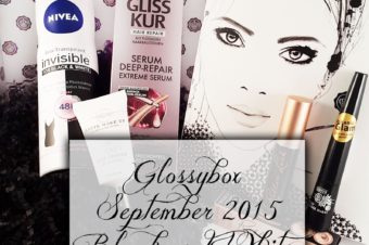 Black and White Glossybox Unboxing