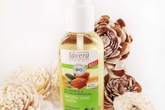Natürliche Pflege mit lavera Natural Shine Haaröl