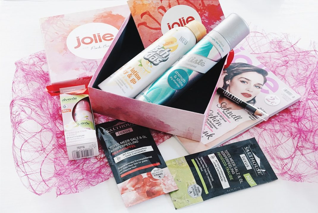 pinkbox juli 2016 jolie edition
