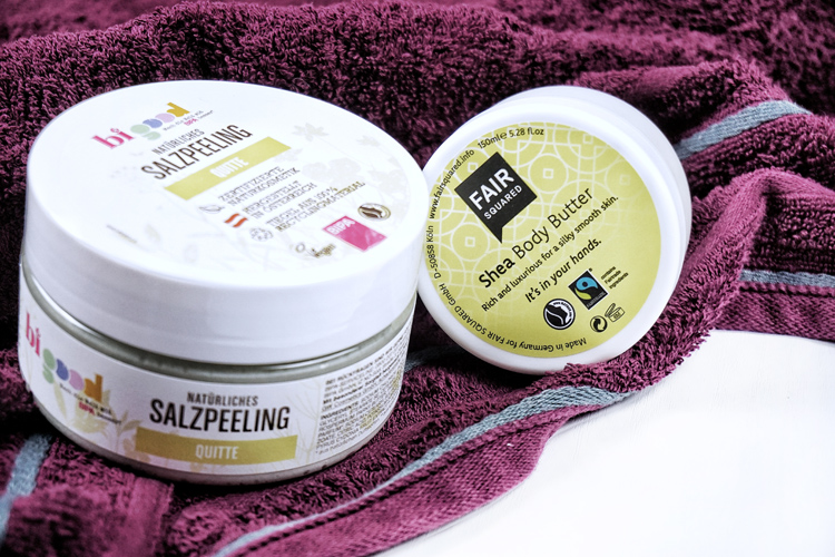 spa day zuhause body scrub