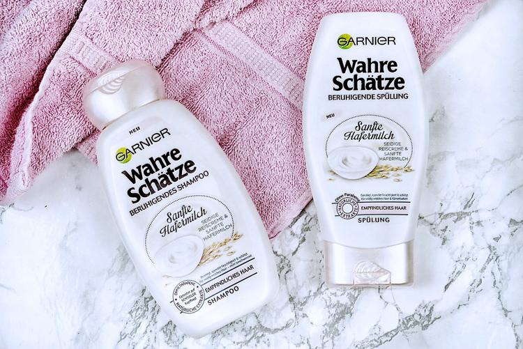 Garnier Sanfte Haftermilch Shampoo Conditioner