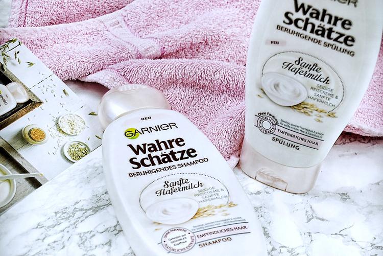 Garnier Sanfte Hafermilch Shampoo Spülung