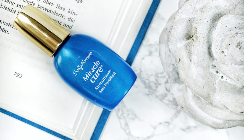 Beauty Darling im Januar – Sally Hansen Miracle Cure Strengthener