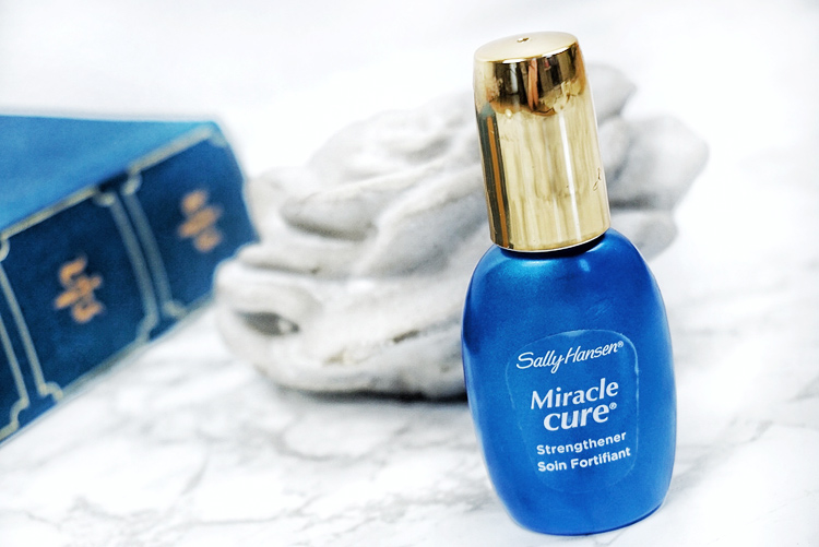 sally hansen miracle cure strengthener