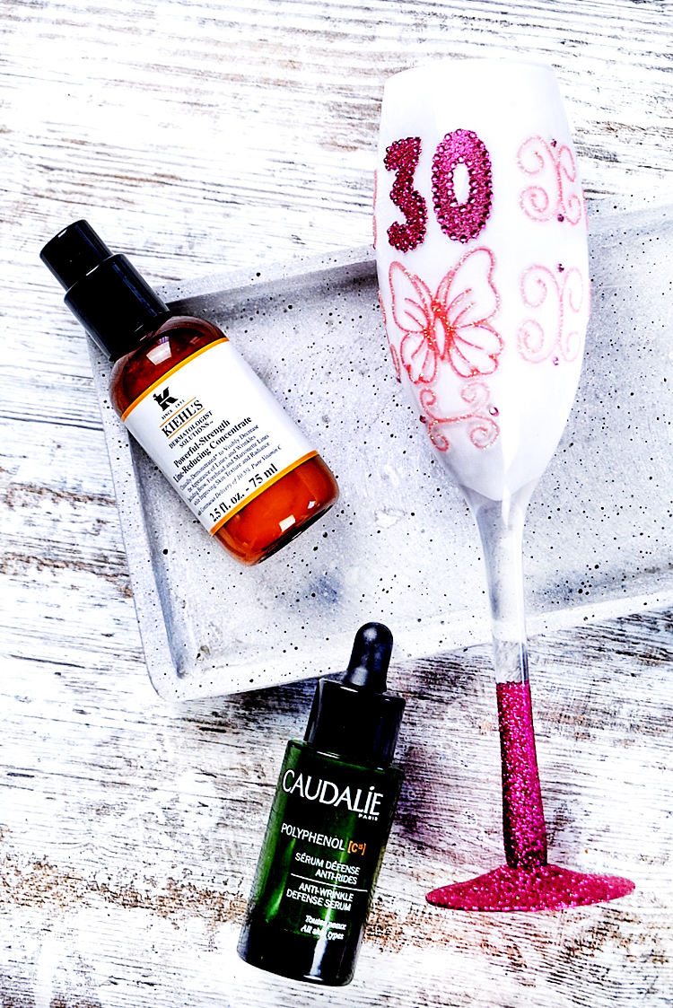Hautpflege in den 30er Antioxidantien Vitamin C Anti Aging