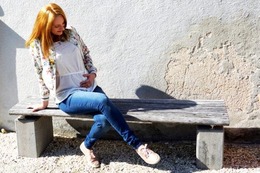Hello Baby, hello Spring – mein erstes frühlingshaftes Schwangerschaftsoutfit