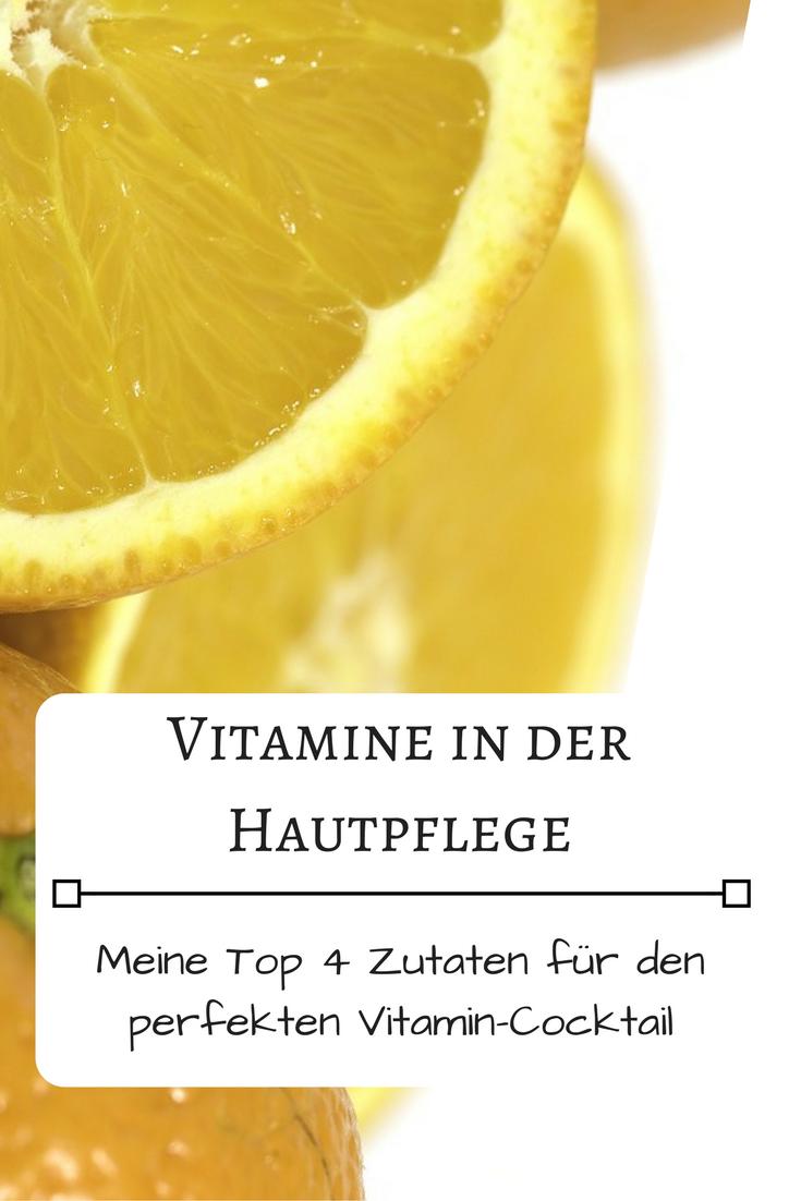 Vitamine in der täglichen Gesichtspflege