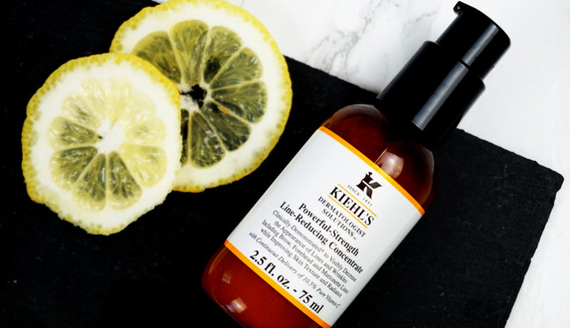 Vitamin C Power mit Kiehls Powerful Strength Line Reducing Concentrate