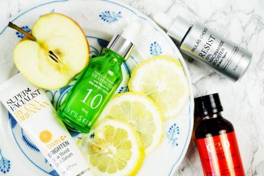 Meine Top 4 Vitamine in der Hautpflege