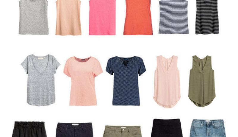 Capsule Wardrobe Projekt – Akzente setzen + Capsule Wardrobe Sommer 2017
