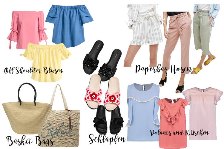 Capsule Wardrobe Sommer 2017 Sommer Trends