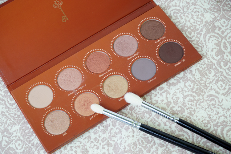 Top 3 Makeup Paletten Zoeva Rose Golden Lidschattenpalette