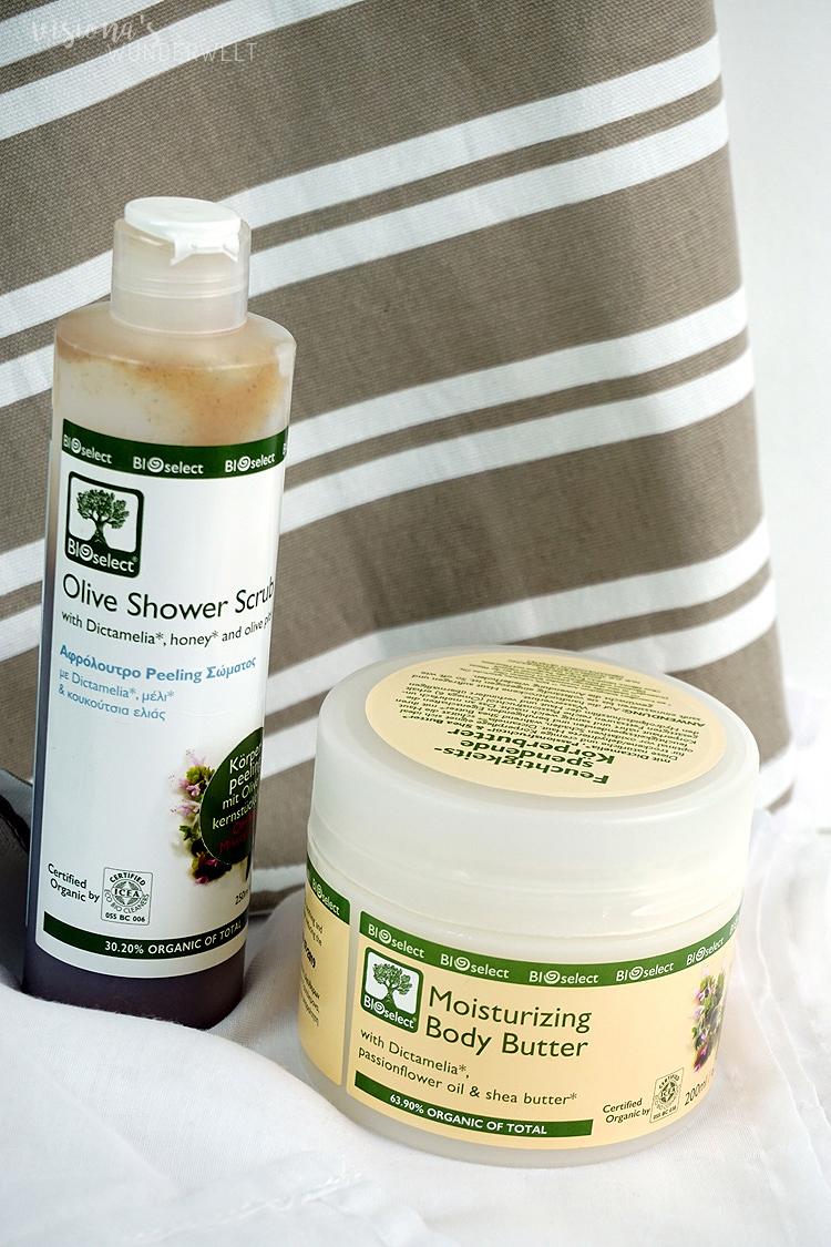 Bioselect Naturkosmetik aus Griechenland Körperpflege für trockene Haut Review