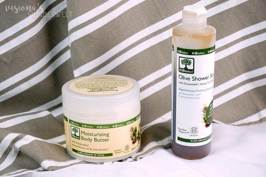 Trockene Haut ade mit BIOselect Naturkosmetik aus Griechenland