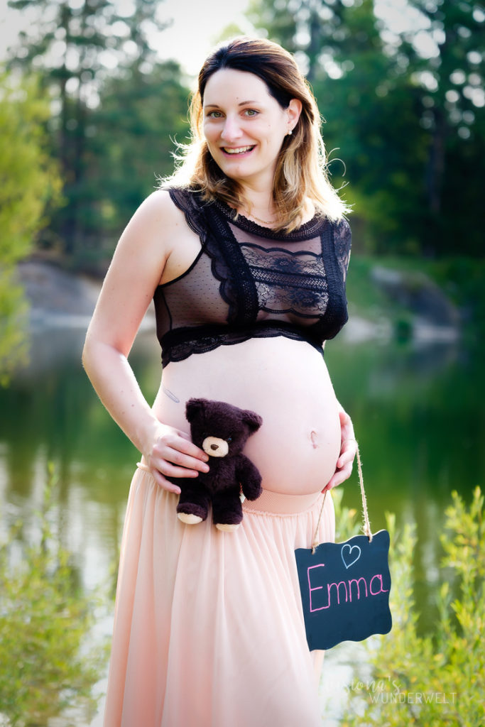 Babybauch Shooting Forstsee
