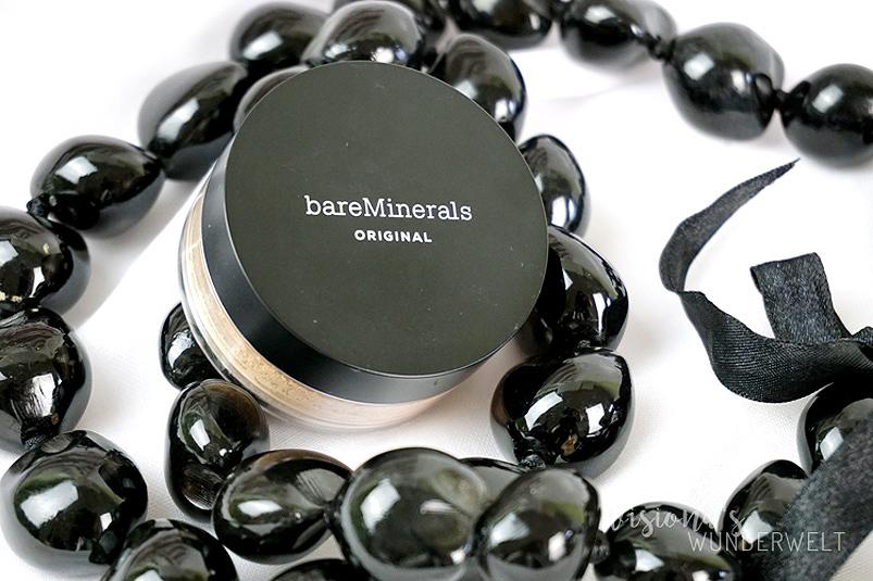 Mineralpuder richtig auftragen mit der bareMinerals Original Foundation Review