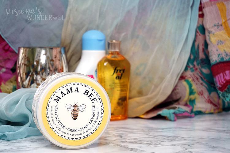 Körperpflege in der Schwangerschaft Belly Butter Körperbutter Mama Bee
