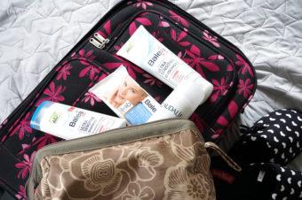 Einblick in meine Kliniktasche Beauty Bag