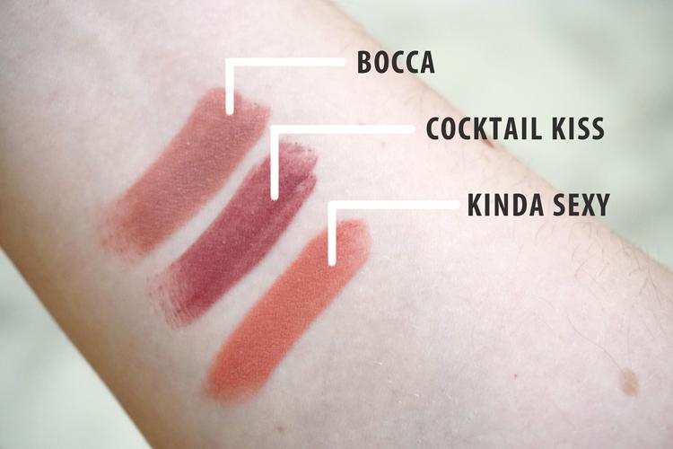 Mac Snow Ball Mini Lipstick Kit Cool Swatches