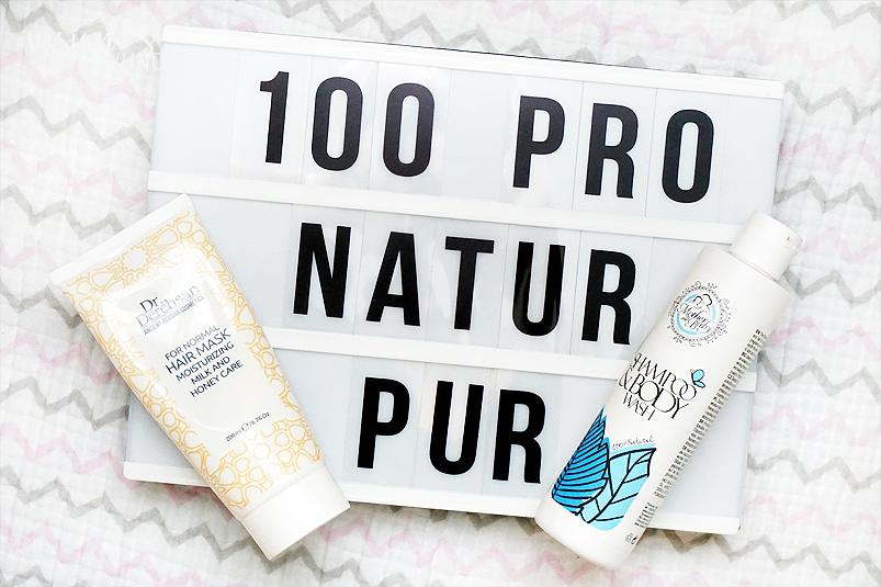Naturkosmetik natürliche Haarpflege mit Hristina Cosmetics