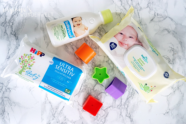 Baby Update 8 Monate Emma inklusive Babypflege Produkte Favoriten