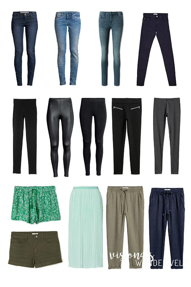 stay at home mama spring capsule wardrobe unterteile
