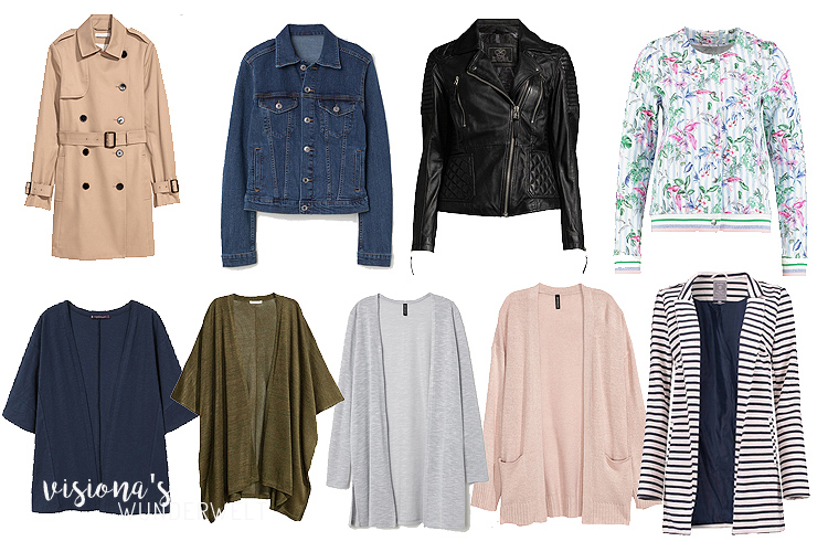 stay at home mama spring capsule wardrobe jacken
