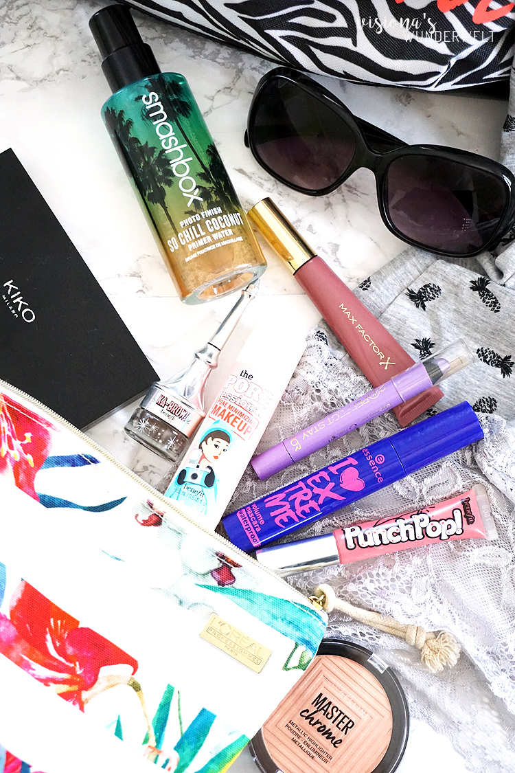 Sommer Makeup Bag Favoriten
