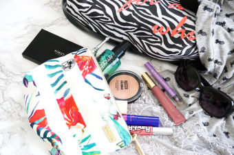 Sommer Makeup Bag – Monthly Makeup Favs