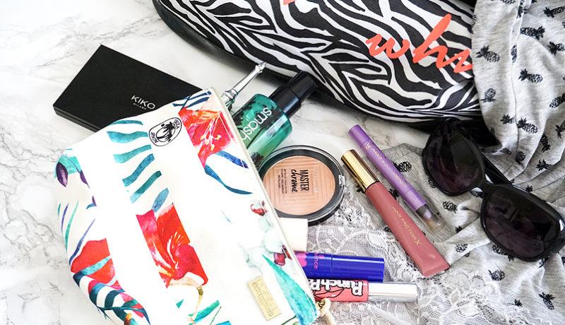 Sommer Makeup Bag – Monthly Makeup Favs