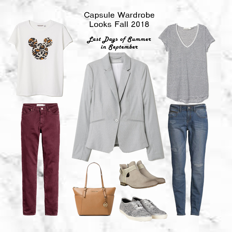 Project 333 Capsule Wardrobe Herbst 2018 Outfit für den Spätsommer