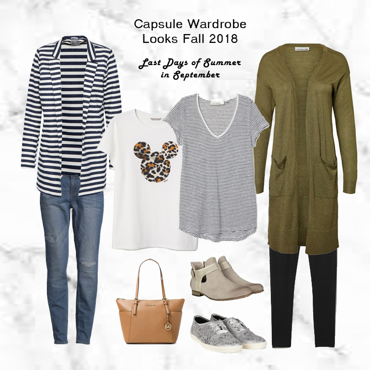 Project 333 Capsule Wardrobe Herbst 2018 Outfits 3