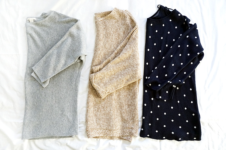 Project 333 Capsule Wardrobe Herbst 2018 Pullover