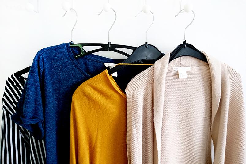 Project 333 Capsule Wardrobe Herbst 2018