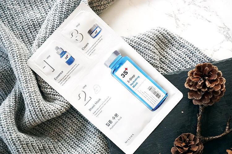 K-Beauty Marke Missha 3 Steps Hydrating Mask
