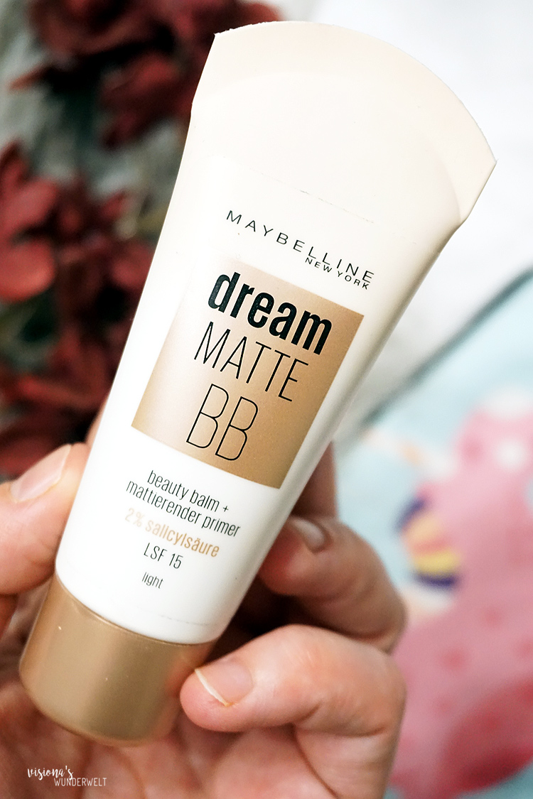 Meine Jahresfavoriten 2018 Makeup für einen No-Makeup-Alltagslook Maybelline Dream Matte BB Cream