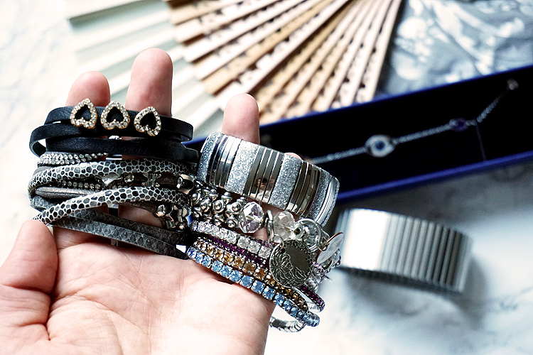 Schmuck Capsule Projekt Jewelry Essentials Armband Sammlung