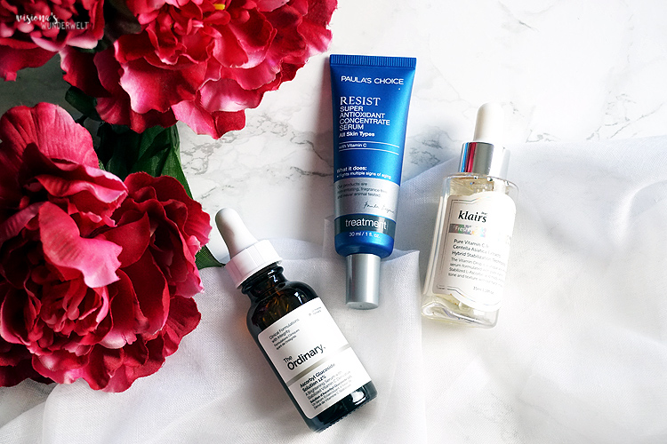 Frühling Skin Care Tipps Antioxidantien Serum