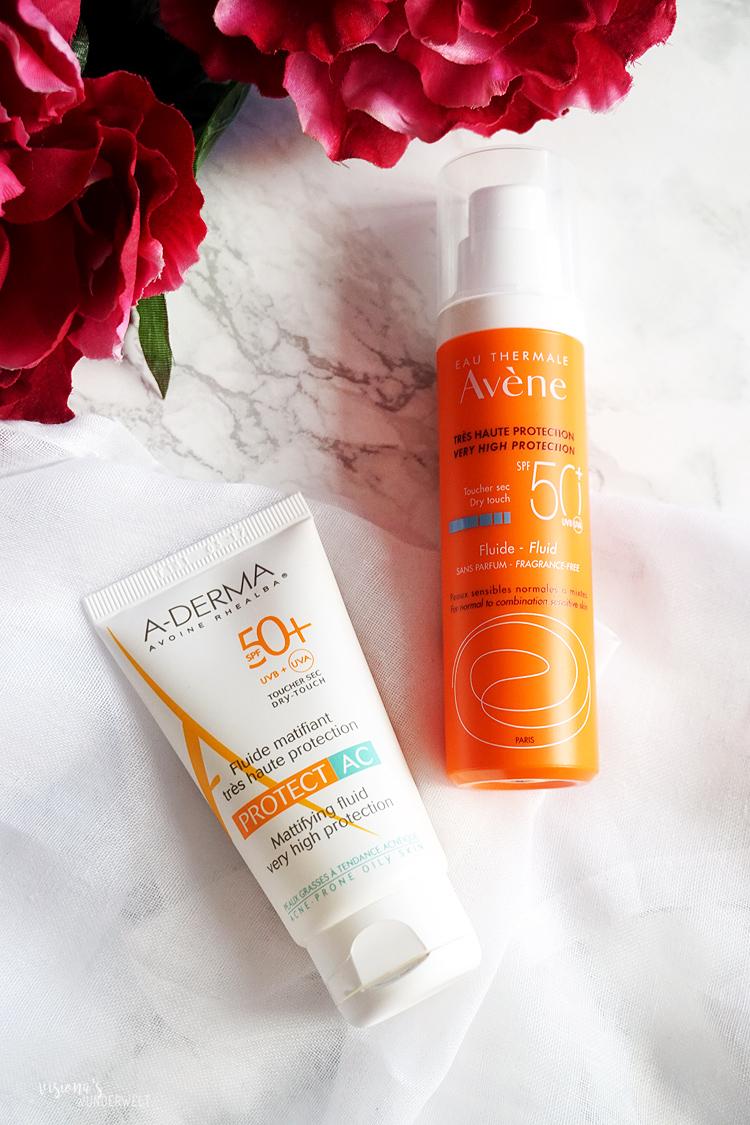 Frühling Skin Care Tipps Sonnenschutz Fluids