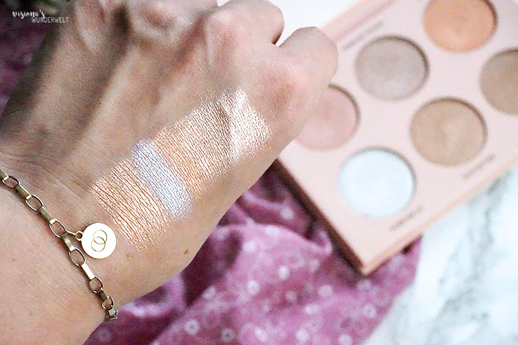 Highlighter für helle Haut Anastasia Beverly Hills Nicole Guerriero Glow Kit Palette Swatches