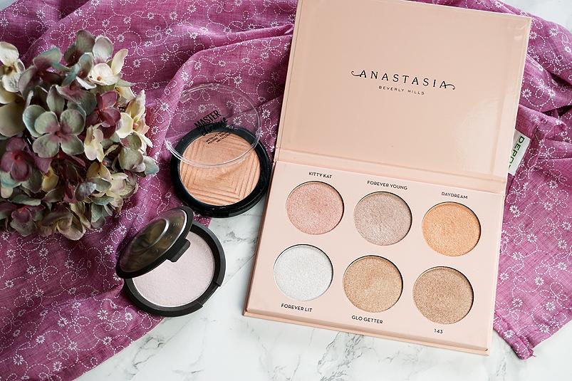 Highlighter für helle Haut Becca Maybelline Anastasia Beverly Hills