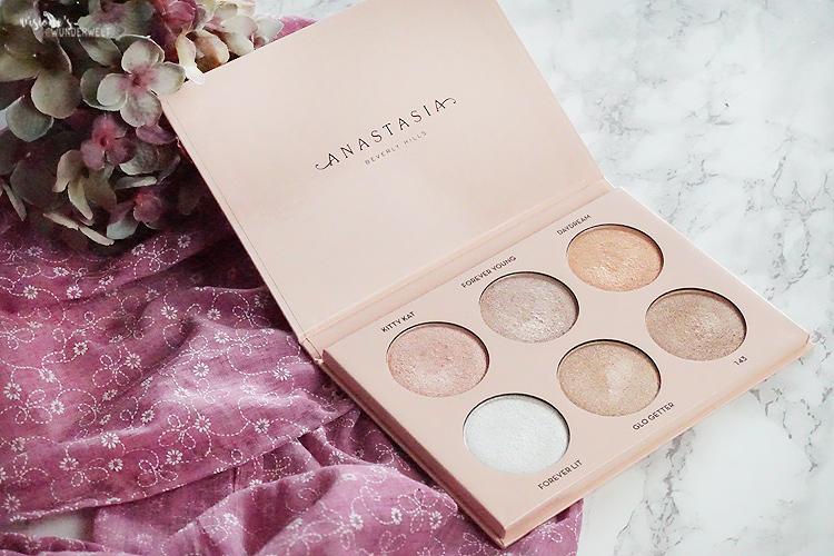 Highlighter für helle Haut Anastasia Beverly Hills Nicole Guerriero Glow Kit Palette