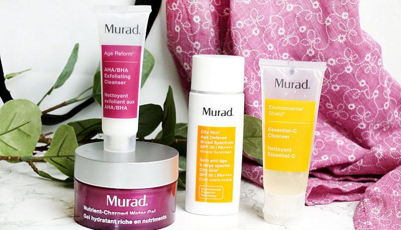 Meine ersten Erfahrungen mit Murad Cosmetics Produkten