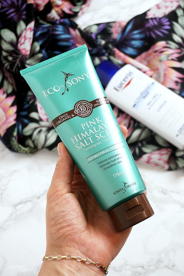 Sommer Beauty Helfer für den perfekten Sommerlook Eco by Sonya Pink Himalayan Salt Scrub