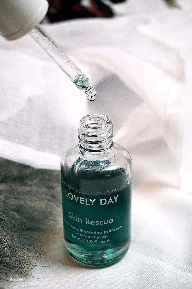 Lovely Day Skin Rescue Problem Skin Gesichtsöl für gestresste Haut Erfahrung
